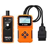 VXDAS el50448 TPMS Reset Tool with NT210 obd2 car Code Reader