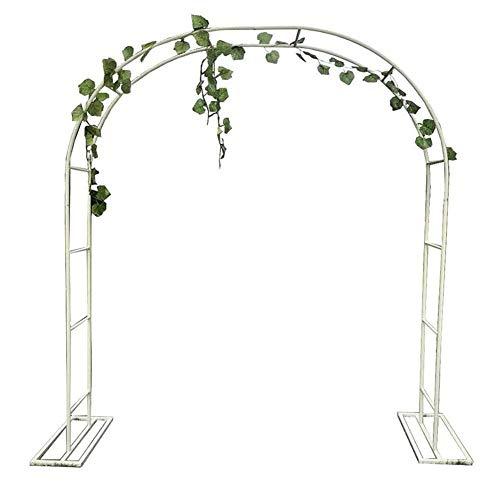 MFWallMirror Flower Stand Garden Arch Gate Door For Plants And Flower Climbing, Garden Growth Support, Ornamental Garden Gate Outdoor Entry Door, Wedding Ceremony Decoration