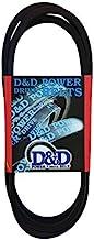 """D&D PowerDrive B178 Massey Fergusen Replacement Belt, B/5L, 1 -Band, 181"""" Length, Rubber"""