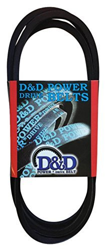 "D&D PowerDrive B35/5L380 Delaval Separator Replacement Belt, B/5L, 1 -Band, 38"" Length, Rubber"