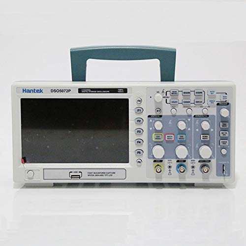 "Hantek DSO5072P Digital Oscilloscope, 70 MHz Bandwidth, 1 GSa/s, 7.0"" Display"