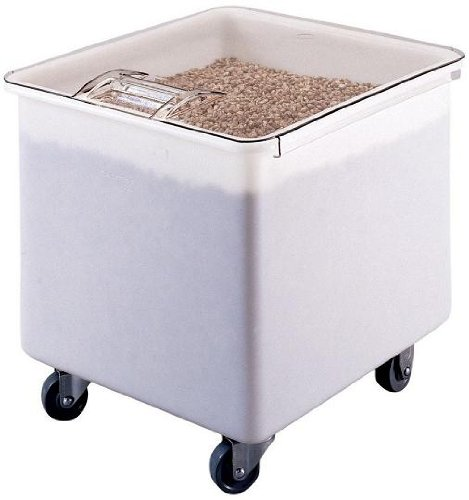 Sale!! Cambro IB32148 White Flat Top 32 Gal Ingredient Bin with Clear Lid by Cambro