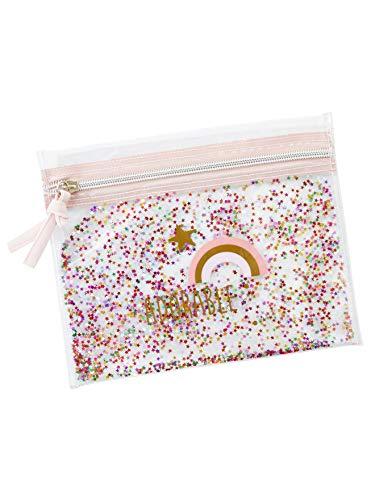Vertbaudet Tasche transparent mit Pailletten für Mädchen, durchsichtig (Transparent) - 3611653361386
