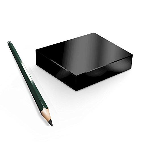 BlackEdition Neodym Magnete Quader N45 SCHWARZ, Black:111x89x19.5mm N38 750kg (1St.)