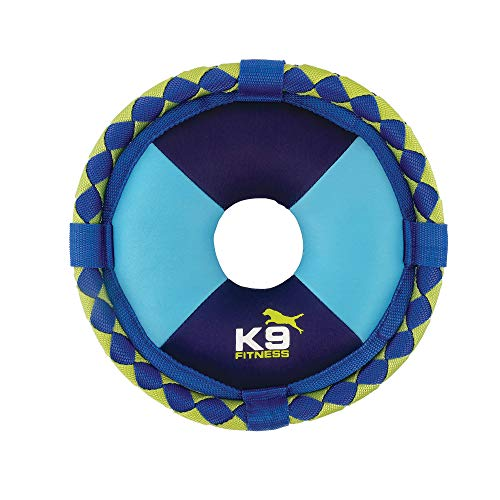 ZEUS K9 Fitness Dog Toys by ZEUS Hydro, Dog Toy for Water Or Pool Fetch, Woven Flyer, One Size