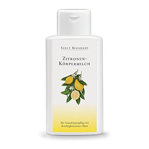 Sanct Bernhard Zitronen-Körpermilch mit natürlichen Feuchthaltefaktoren 250 ml
