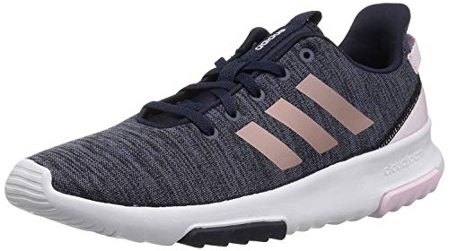 adidas Baby Racer TR Running Shoe, Legend Ink/Vapour Grey Metallic/aero Pink, 4K M US Toddler