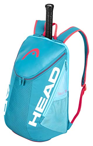 Head Tour Team Backpack Bolsa de Tenis, Adultos Unisex, Azul/Fucsia, Talla única