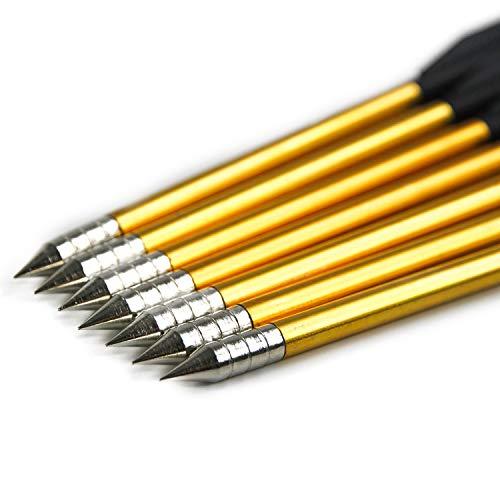 IVEN Aluminum Archery Crossbow Bolts Arrows 6.5