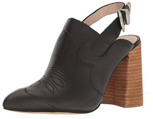 Shellys London Women's Donna Pointed Toe Flat, Black, 39 EU/8.5 M US