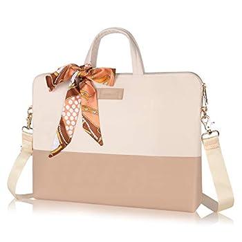 Kamlui Laptop Bag - for Women 15.6 Inch Carrying Computer Sleeve Case Shoulder Messenger Laptop Bag for MacBook Pro Air HP Lenovo Dell