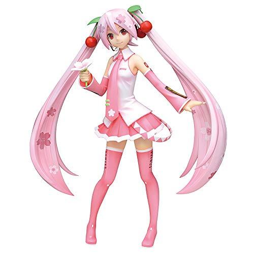 SEGA Hatsune Miku series super-premium Figure Figurine 23cm Sakura Miku japanese