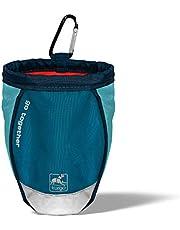 Kurgo Go Stuff-It torba na karmę dla psów, akcesoria dla psów, worek na smakołyki – łącznie z klipsem i karabińczykiem kolor: niebieski