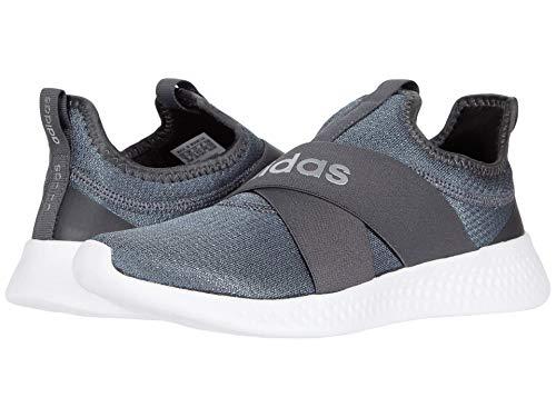 adidas Women's Puremotion Adapt Running Shoe, White/Silver/Grey, 10