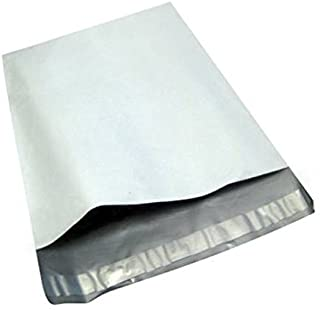 100 14.5x19 White Poly Mailers Shipping Envelopes Plastic Mailing Bags