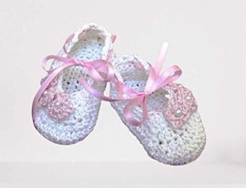 Babyschuhe Ballerina Baby Booties Taufschuhe