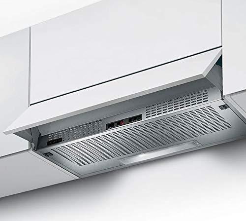 Campana extractora de cocina de 60 cm, color gris claro SRM LG/XA60