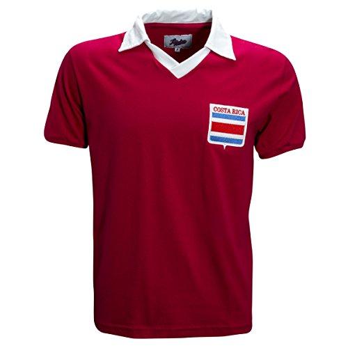 Costa Rica 1990 RetroLeague Shirt (XX-Large) Red