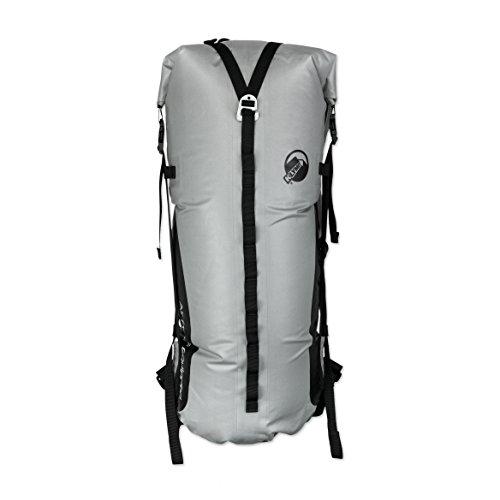 Klymit Aufblasbare Outdoor Campingmatte Luftmatratze Splash 25Dry Bag Rucksack mit Air Rahmen, Unisex, grau