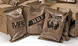 MREs (Meals Ready-to-Eat) Genuine U.S. Military Surplus Assorted Flavor