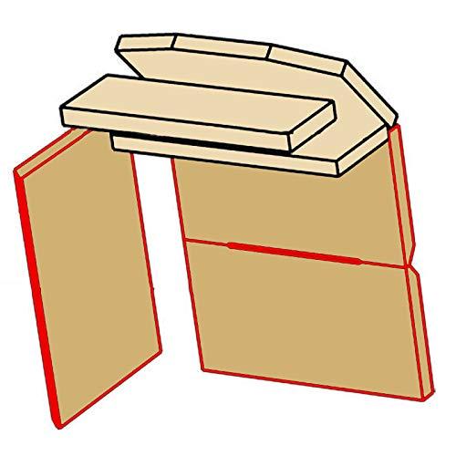 Ausmauerung Vermiculite passend für Kaminofen Dioptas Darina Damaris Mainau Kaminofen von Eurotherm Ersatzteile Brennraum Feuerraum