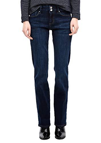 s.Oliver Damen 05.912.71.5840 Bootcut Jeans, Blau (Eclipse Blue Denim STR. 58z5), No Aplica (Herstellergröße: 34/L32)