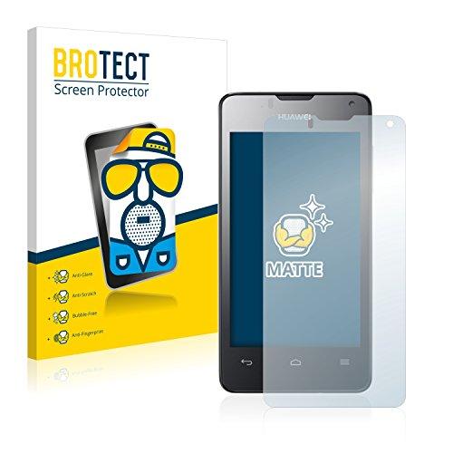 BROTECT 2X Entspiegelungs-Schutzfolie kompatibel mit Huawei Ascend Y300 Bildschirmschutz-Folie Matt, Anti-Reflex, Anti-Fingerprint