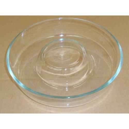 CORNING Pyrex Clear Glass Jello Mold ~ 10 Inch Bundt Cake Baking Dish - Made in France