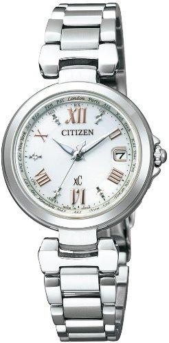 [シチズン]CITIZEN 腕時計 xC クロスシー エコ・ドライブ電波時計 ハッピーフライトシリーズ EC1030-50A レディース