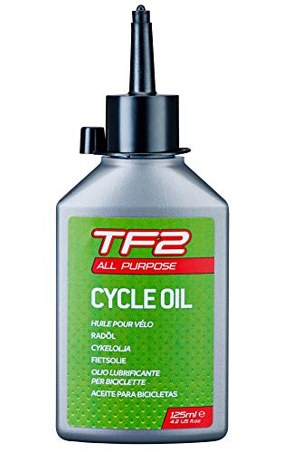WELDTITE TF2 All Purpose Oil - Mineral Fiets Smeermiddel voor Fiets Lagers, Kabels, Pedalen, Kettingen en Links - 125ml