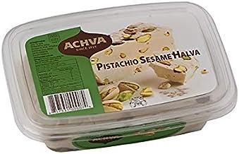 Achva Pistachio Sesame Halva 16 oz.