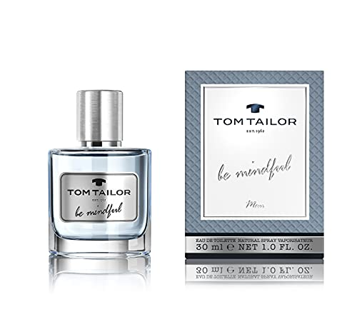 Tom Tailor Be Mindful Man - Perfume para hombre, 1 unidad (30 ml)