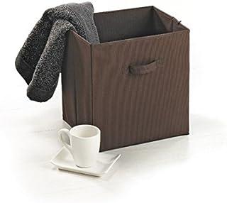Modul'Home 6RAN787CH Panier Intissé Chocolat 33 x 26,5 x 35,5 cm