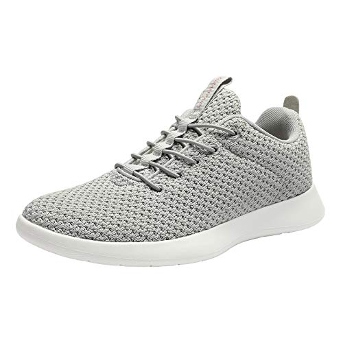 DREAM PAIRS Women's Lightweight Walking Shoes Casual Fashion Sneakers Light Grey Size 10 M US Liberty-L