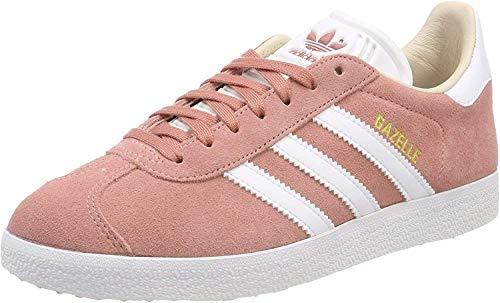 Adidas Gazelle W, Zapatillas de Deporte para Mujer, Rosa (Roscen/Ftwbla 000), 36 EU