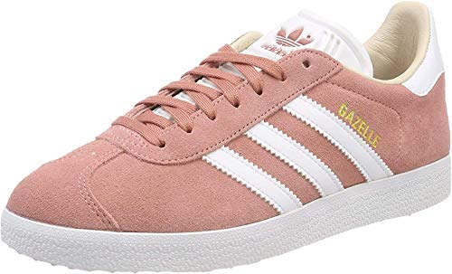adidas Damen Gazelle Fitnessschuhe, Pink (Roscen/Ftwbla 000), 40 2/3 EU