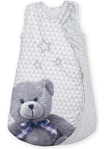 Barbacado - Saco de dormir para bebé o niño, color gris