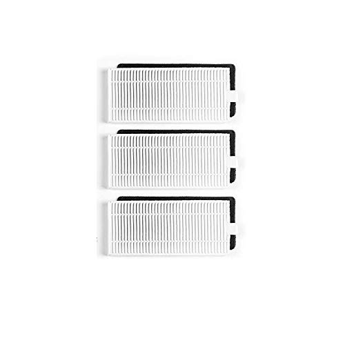 e-Bulk Pack Filtre Hepa Compatible Ecovacs Deebot 605 ./ 601/600