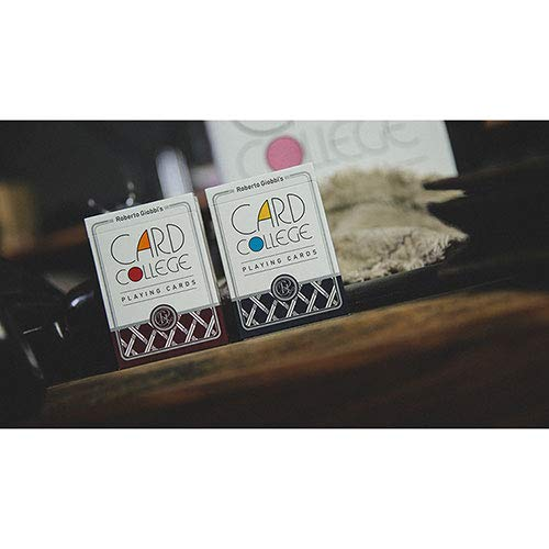SOLOMAGIA Card College (Red) Playing Cards by Robert Giobbi and TCC Presents