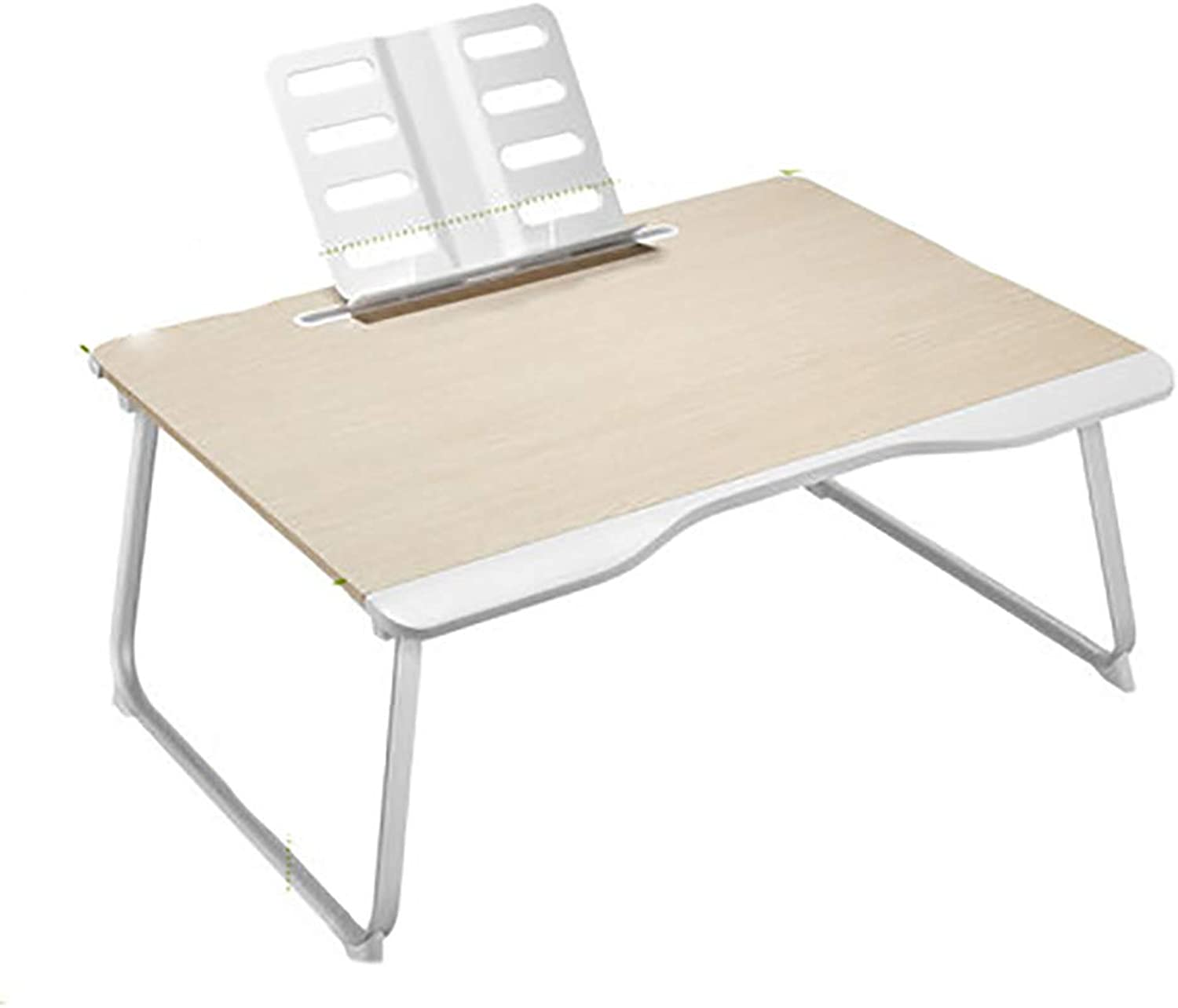 Hai Yan Portable folding table Folding Table - Bed Small Table Laptop Table College Dormitory Bed Desk Multi-function Folding Desk Lazy Small Table Home Bedroom Bed With Learning Heightening Large Siz
