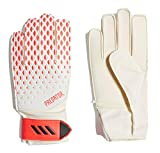 adidas Kinder PRED GL TRN J Soccer Gloves, White/pop, 6