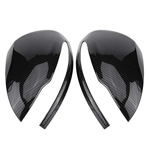 KSTE Carbon Spiegel Abdeckung, 1 Paar Carbon-Faser-Spiegel-Abdeckung for Mercedes Benz C/E/GLC/S-Klasse W205 W213 W222 X253