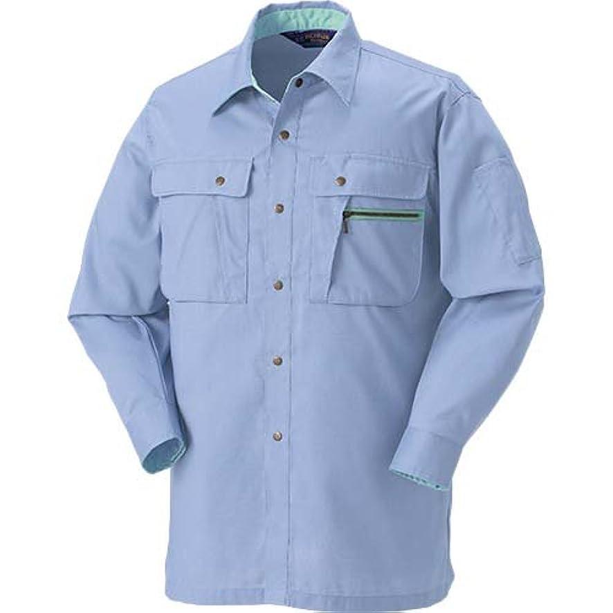 びん強化海藻クロダルマ 25011 長袖シャツ ライトパープル L