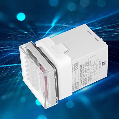 FOLOSAFENAR 0.1S-99H Interruptor de sincronización del Controlador automático CW/CCW LCD Controlador de relé de Tiempo Pantalla de visualización Digital para luz de Potencia(220VAC)