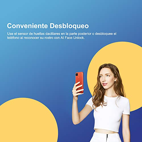Smartphone Xiaomi Redmi 9C Azul 32GB, Tela de 6.53