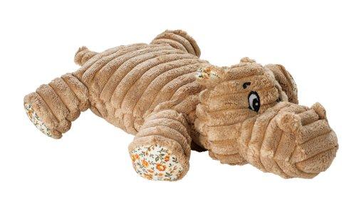 HUNTER HUGGLY AMAZONAS HIPPO Hundespielzeug, Plüsch, Nilpferd, 28 cm, beige