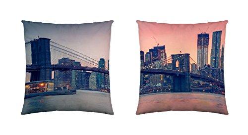 NATURALS Funda COJÍN Brooklyn Bridge (50x 50 cm)