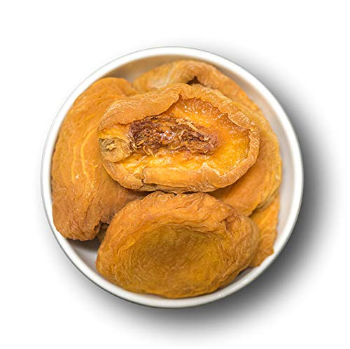 1001 Frucht Pfirsich getrocknet leicht geschwefelt I unbehandelte Trockenfrüchte ohne Zusätze - saftige Pfirsiche entsteint I Sonnengetrockneter Pfirsich ungezuckert gentechnikfrei (1000 GR)