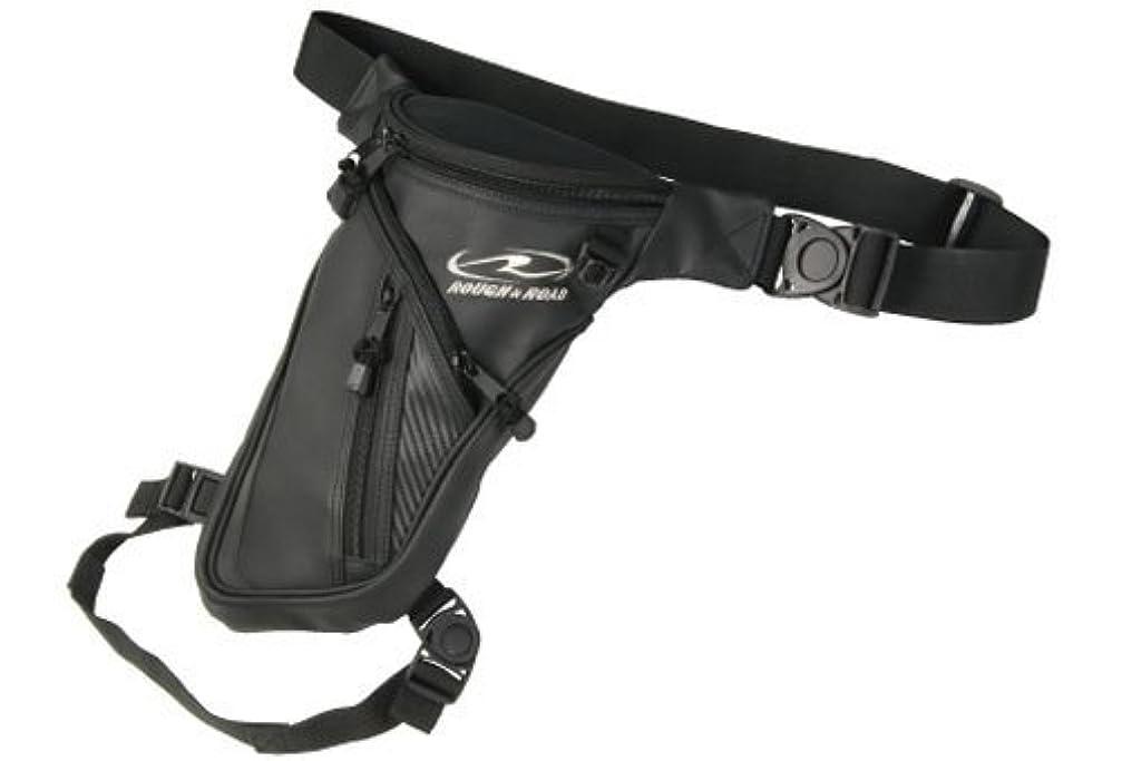 肘掛け椅子斧形状ラフアンドロード(ROUGH&ROAD) バイク用ホルスターバッグ J.Wホルスター マットレザー W20XD8XH34cm(最大) RR9608