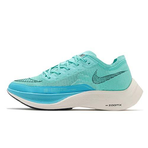 Nike Herren Zoomx Vaporfly Next% 2 Laufschuh, Aurora Green Black Chlorine Blue Pale Ivory, 41 EU
